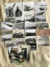 JOB LOT - 97 Photos of the Supermarine Spitfire - Mostly Post-War, poss Some WW2