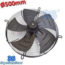 3S Ventilatore ventola assiale PREMENTE Ø 500 mm / 50 cm 420 W motore 220v NUOVA
