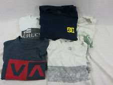 Mens Size Large Shirt Lot Oneill, Hurley, Quicksilver, DC, RVCA
