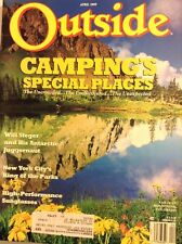 Outside Magazine Campings Special Places April 1989 110317nonrh