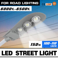150W LED Street Road Outdoor Yard Flood Light AC 85V-265V Unique Cold white