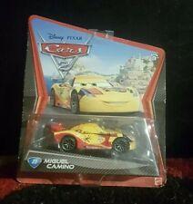 Cars 2 WGP 2012 MIGUEL CAMINO 7/17 Disney Pixar 1:55 Mattel
