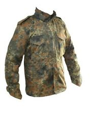 Flecktarn Camouflage M65 Field Jacket - US Army Style Military Parka Winter Coat