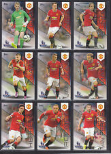 Topps Premier Gold 2014 - Base Set of 9 Cards - Manchester United