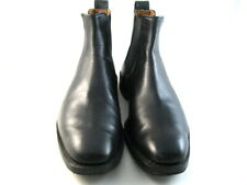 "Allen Edmonds ""Liverpool"" Boots 7 D Black   (906)"