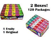 CANEL'S CHICLES 120ct (2 Boxes), 1  Fruity & 1 Original, Assorted Chewing Gum