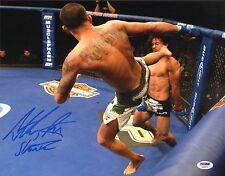 Anthony Pettis Signed UFC 11x14 Photo PSA/DNA COA Showtime Kick Picture Auto'd