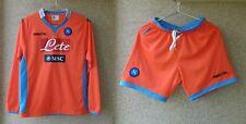 Napoli Football Shirts Goalkeeper 2013/2014 Jersey and Short Soccer Form KIT