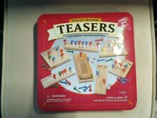 Solid Wood Teasers 7 Different Brain Buster Games with Tim Case