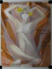 Affiche J.B. VALADIÉ 1986 Vision Nouvelle & Rombaldi