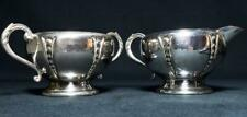 More details for antique usa silver plated jug/sugar bowl william rogers mfg co