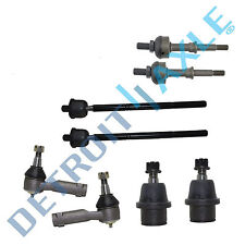 8pc Inner Outer Tie Rod Set Lower Ball Joints + Sway Bar Links F-150 Mark LT 4x4