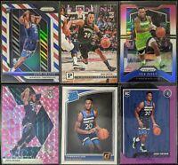 Lot of (6) Josh Okogie, Including Prizm RWB RC, Hoops/Donruss RC, Mosaic & more