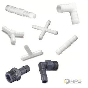 NORMA Schlauchverbinder POM / PA6 Kunststoff 3mm bis 25mm vers.Größen u. Mengen