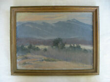 J.A. Nesmith oil painting White Mountains NH Frost & Adama canvas