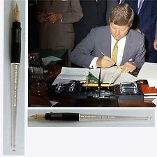 John F Kennedy LBJ IKE Presidential White House Bill Signer Pen Authentic