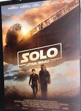 SOLO Star Wars Story (2018) Manifesto originale Prima Edizione ITA 100X140cm