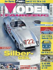 Zeitschrift Modell Fahrzeug 1 2008 Alfa GTA 1300 VW T1 Porsche 934 Omega 3000