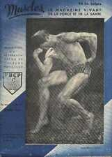MUSCLES 17 1947 Bodybuilding Beefcake Young Physique Magazine boy GAY interest