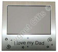 I Love My Dad Photo Picture Frame Present Gift 5 x 3.5""
