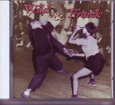 V.A. - WILD & FRANTIC - 26 R&B / Rock Hits CD