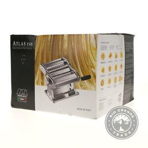 OPEN BOX MARCATO Atlas 150 Pasta Machine in Silver - 10 Possible Thicknesses