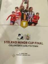 Cullercoats V Blyth Town Northumberland Minor Cup Final 2019 NEWCASTLE