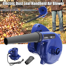 AM_ EG_ 2 in 1 600W AC 220V Electric Handheld Car Garden Dust Leaf Air Blower Cl