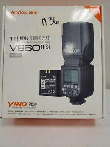 Godox V860II-S High-Speed Sync GN60 1/8000 2.4G TTL Li-on Battery Camera M36