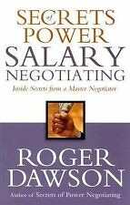 Secrets of Power Salary Negotiating: Inside Secrets from a Master-ExLibrary