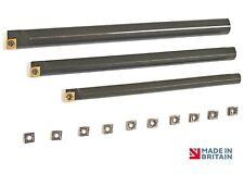 NEUF spécial s08k,s10k & s12k sclcr06 Barres d'alésage outils de mousse & 10x