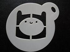 Corte Láser Diseño Pequeño Finn, Cookie, Craft & Plantilla de pintura de la cara