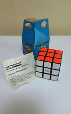 VINTAGE RUBIK'S CUBE POLITECHNIKA ORIGINAL BOX & INSTRUCTION BUDAPEST HUNGARY