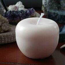 bougie parfumée décorative pomme naturelle huile essentielle bio made in france