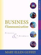 Business Communication : Process and Product by Mary Ellen Guffey (Hardcover) FS