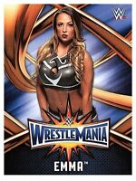 2017 TOPPS WWE Road to Wrestlemania 33 ROSTER #49  EMMA