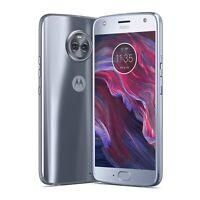 Moto X4 by motorola 64GB GSM/CDMA unlocked smartphone blue