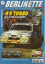 BERLINETTE MAG 37 RENAULT CLIO WILLIAMS PEUGEOT 309 GTI 16 ALPINE A108-1 FASA R5