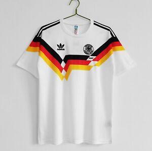 1990 Germany Home Retro Soccer Jersey
