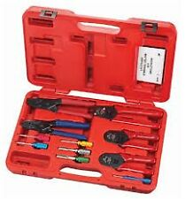 SG Large Master Deutsch Terminal Service Kit with Crimpers, Release tools #18700