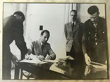ww2 photo press , reddition des Armées Allemandes  Italie 37