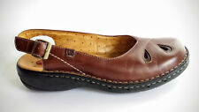 Clarks Sandal Single Right Foot Only Slingback 8 M AMPUTEE Brown Leather Shoe