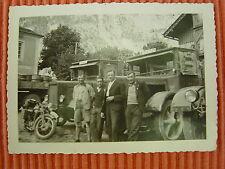 Foto LKW MAN , Oldtimer, Lastkraftwagen. von 1935, Kempten