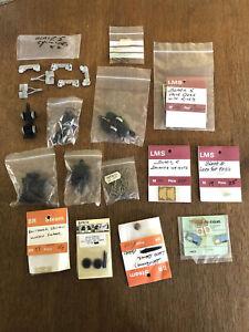 13 Packs ASSORTED ACCESSORIES - Bogies, Brass Etch, White metal, Alan Gibson etc