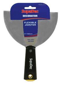 """Wallpaper Scraper Decorators Filling Knife Flexible Jointer Paint Scraper - 6"""""""