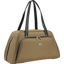 WOMEN'S LIGHTWEIGHT VICTORINOX BRAVO CARPET BAG DUFFEL KHAKI CARRY-ON BAG  NEW!
