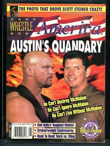 Wrestle America Magazine Aug 1999 Rock Sting   W012