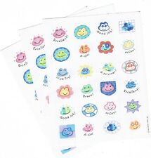 3 sheets FROG Reward Scrapbook Stickers! Excellent! Good Job! A Winner!