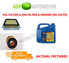 DIESEL OIL AIR FILTER + FS PD 5W40 OIL FOR FIAT GRANDE PUNTO 1.9 131BHP 2005-12
