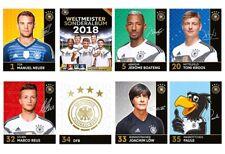 Rewe dfb tarjetas de colección WM 2018-completamente todos 36 tarjetas normal